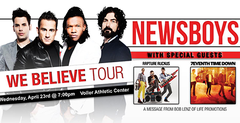 "Newsboys - ""We Believe"" Tour"