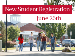 New Student Registration June 25th