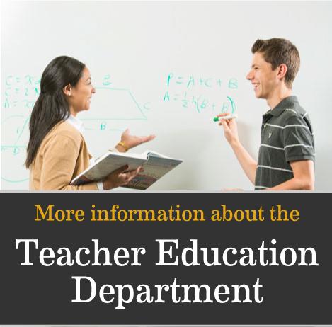 teacher education and life