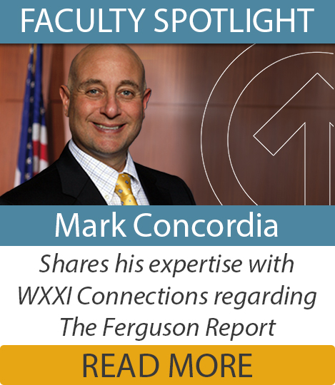 Professor Mark Concordia and Marv Stepherson discuss the Ferguson Report with Evan Dawson