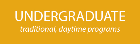 Traditional Undergraduate Programs - Daytime Classes