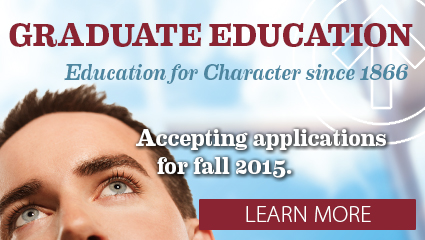 Accepting applications for graduate programs