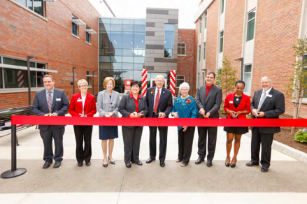 Crothers Science and Nursing Center Dedication