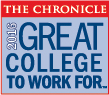 Great College to Work for 2016